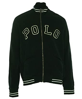 Polo Ralph Lauren Fleece Baseball Jacket at Amazon Men's Clothing ...