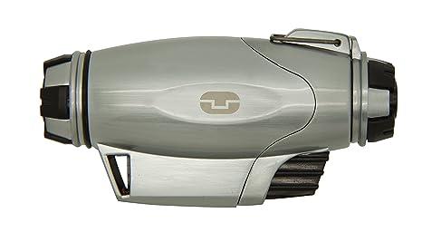 True Utility Turbojet Lighter Mechero, Feuerzeug Firewire Turbo Jet, Grau, TU407, Plateado