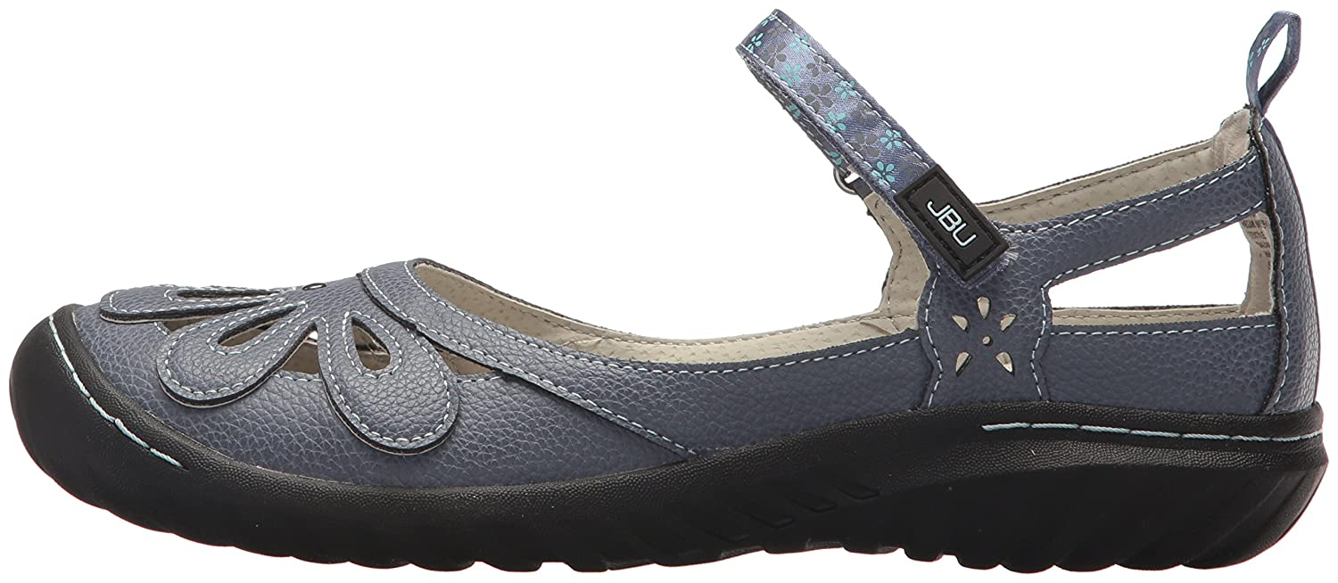 JBU by Jambu Women's Wildflower B074KQXC74 Encore Mary Jane Flat B074KQXC74 Wildflower 10 B(M) US|Denim b853e5