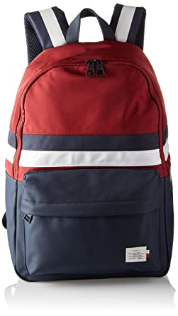 Tommy Hilfiger - Backpack Retro, Bolsas para portátil Hombre, Red (Corporate),