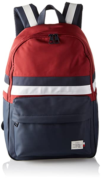 Tommy Hilfiger Tommy Backpack Retro, Zaino Uomo, Rosso