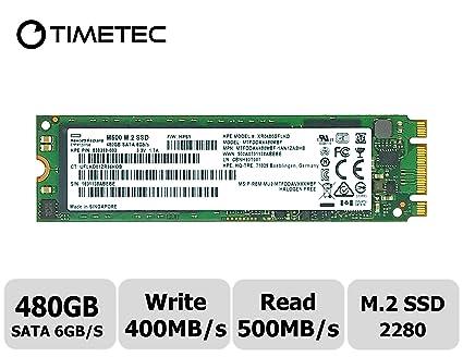 Timetec HP Enterprise Micron IC 480GB M 2 2280 SATA 6Gb/s Internal SSD  MTFDDAV480MBF(M 2 SATA 480GB)