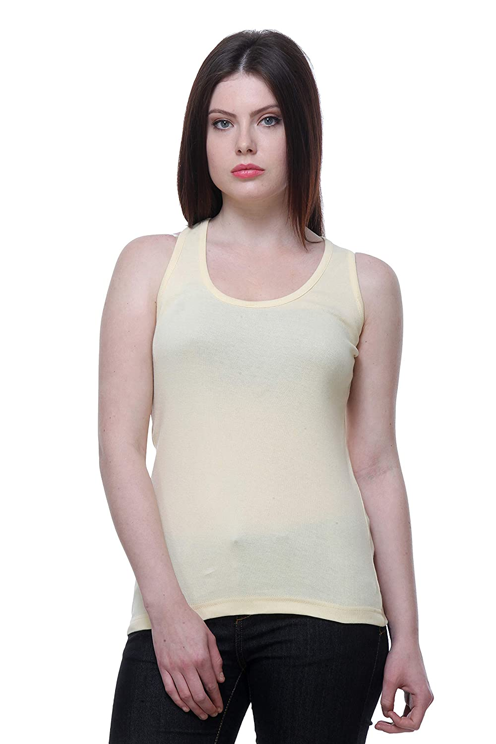 Indistar Tank Tops for Women Racerback Tanks Pack of 5