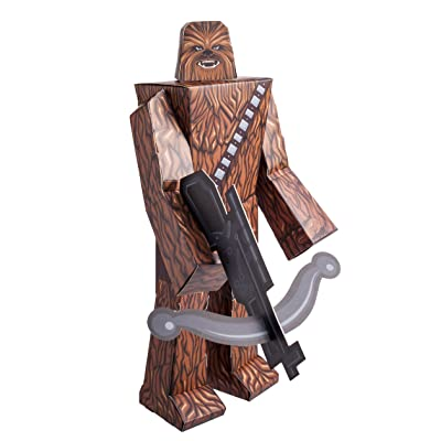 "Zoofy International 12"" Chewbacca PDQ Action Figure: Toys & Games"