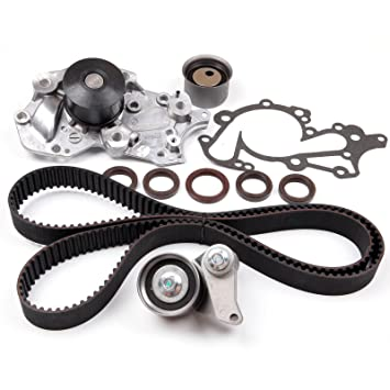 ECCPP Timing Belt Tensioner Kit Fits 96-11 Hyundai Accent Kia Rio DOHC G4ED 110294-5211-1402211