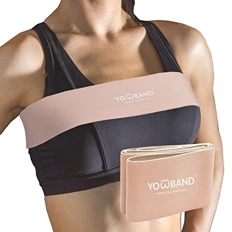666053dbe YOWBAND No-Bounce High-Impact Adjustable Breast Support Band-Extra Sports  Bra Alternative