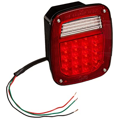 Grote G5092-5 Hi Count LED Stop Tail Turn Light (LH with License Window): Automotive