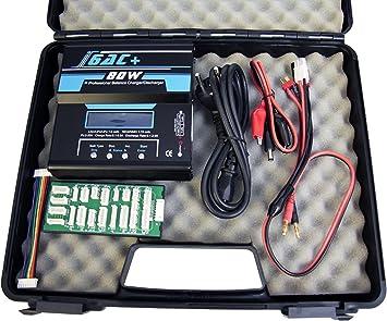Multitester Himoto B6AC+80W Ladegerät 80W Profi Digital Batterie