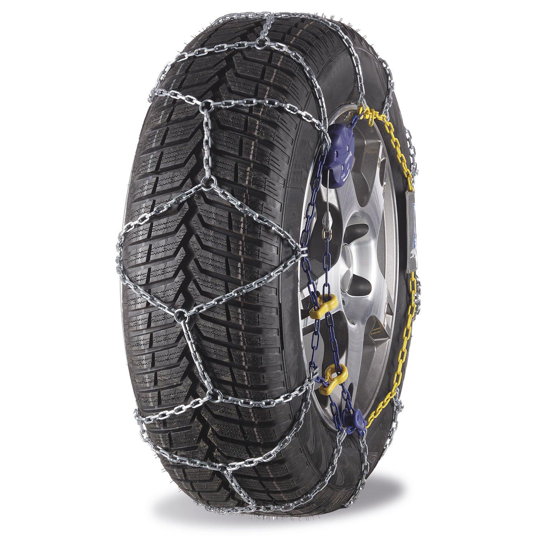 Michelin 92326 Chaînes à neige M2 avec système Extrem Grip automatique 77, compatibles ABS et ESP, certifiées TÜV/GS et ÖNORM, 2 pièces