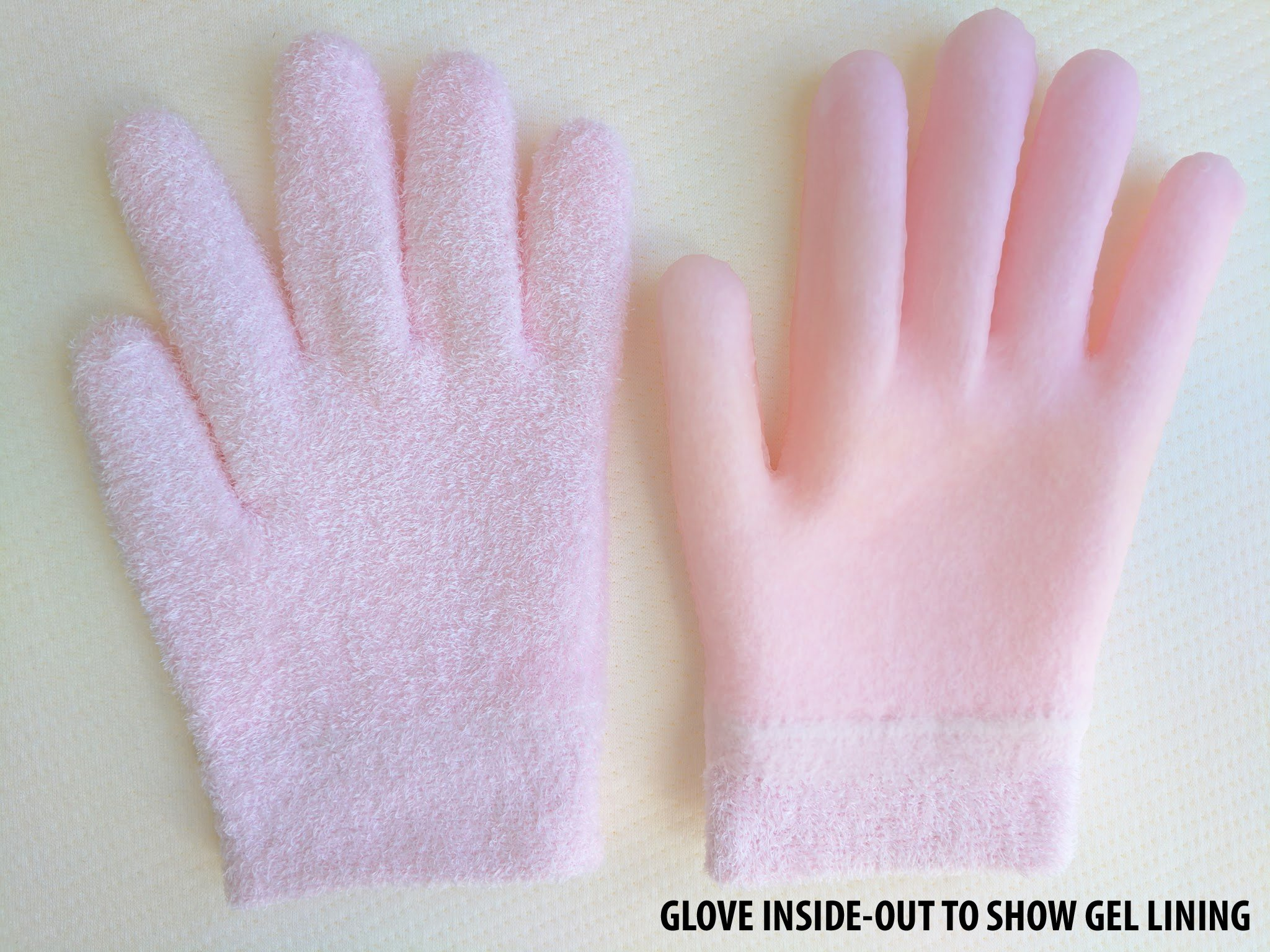NatraCure Gel Moisturizing Gloves - (Lavender Scent) by NatraCure (Image #5)