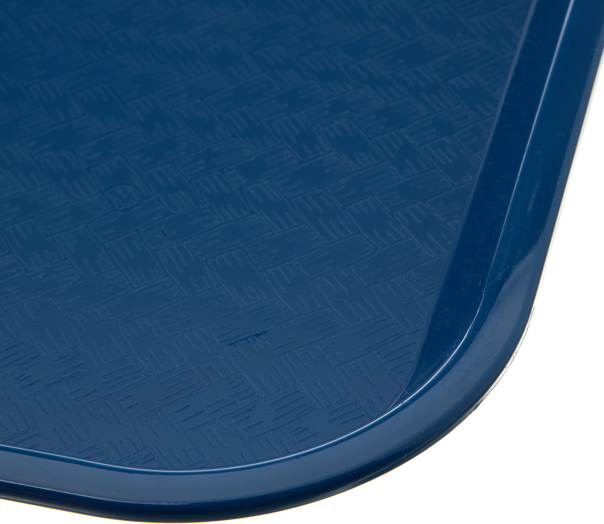 Carlisle CT141814 Café Standard Cafeteria / Fast Food Tray, 14'' x 18'', Blue (Pack of 12) by Carlisle (Image #4)