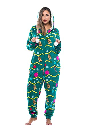 1630ebc896ee Amazon.com  Just Love Adult Onesie Pajamas  Clothing