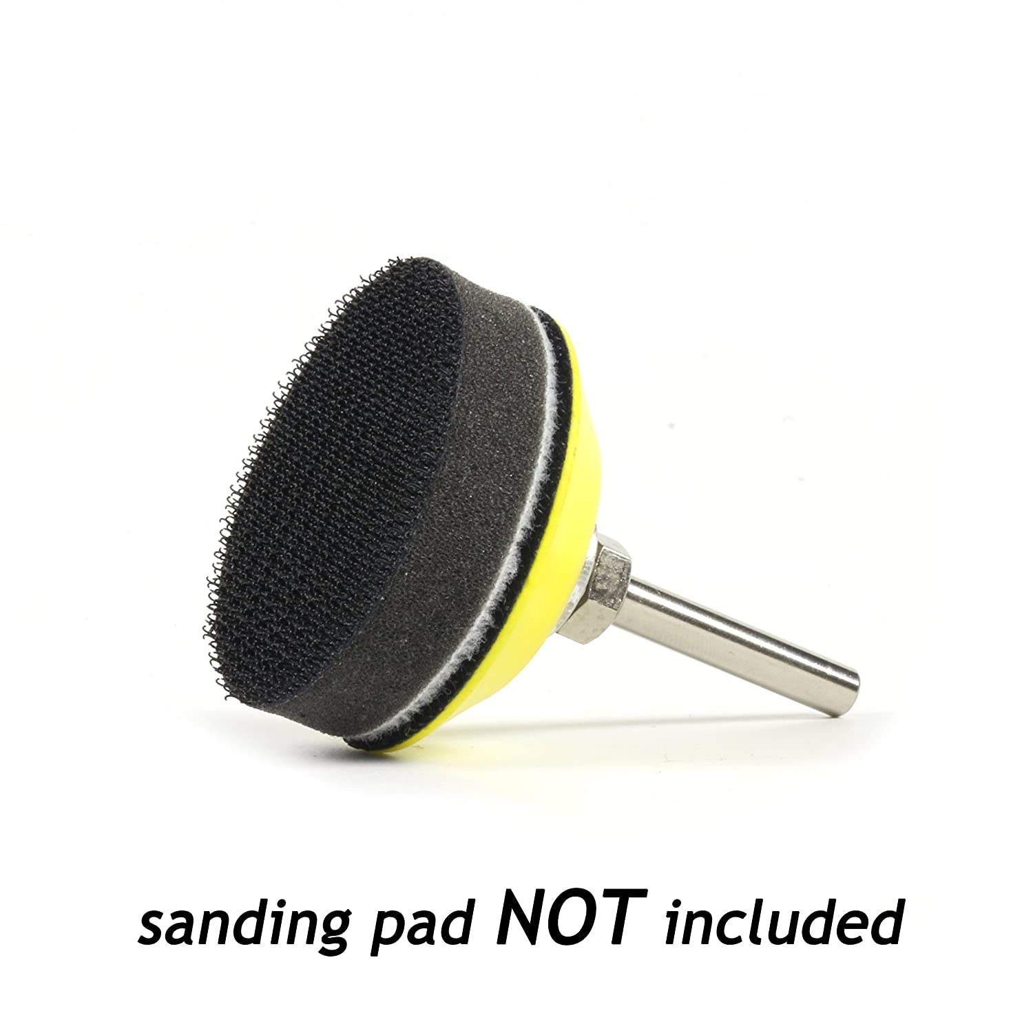 75mm 3 Inch Hook and Loop Soft Foam Buffering Pad for 3 Sanding Pad 5 Pack