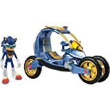 Sonic Boom T22114A Sonic Force One Transforming Bike, Blue