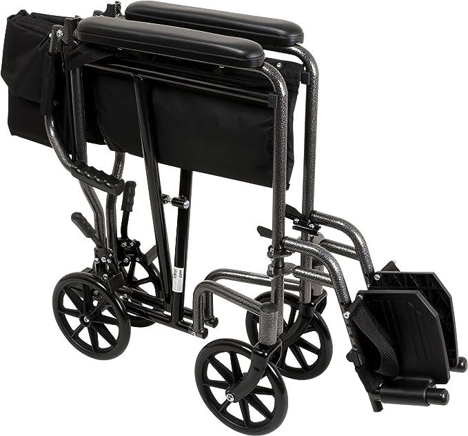 Amazon.com: Roscoe Medical silla de ruedas de transporte, en ...