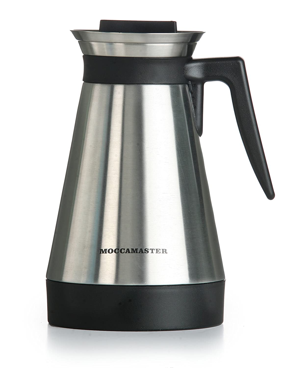 Amazon.com: Moccamaster KBT 10-Cup Coffee Brewer with Thermal Carafe,  Polished Silver: Drip Coffeemakers: Kitchen & Dining