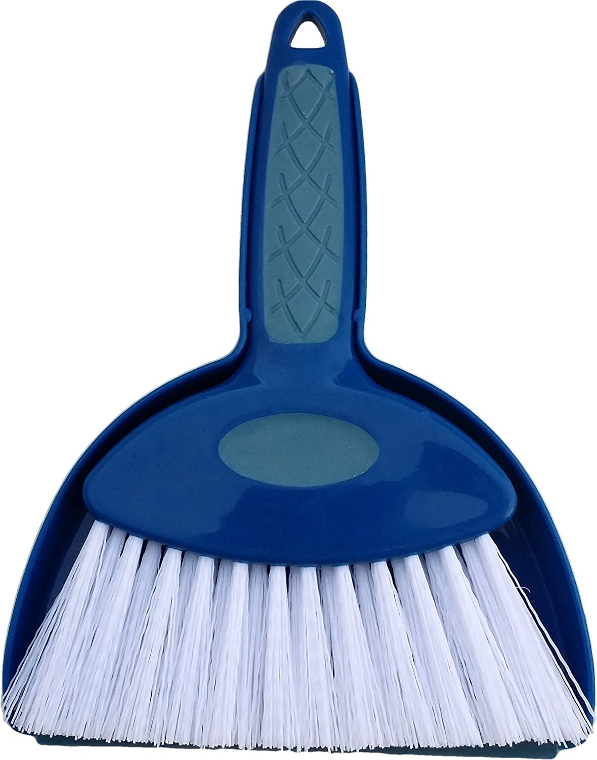 Hefty and Durable Small Hand Broom with Snap-on Dust Pan, Available in Various Package Quantities (1) Ennvo Inc. H&PC-86231