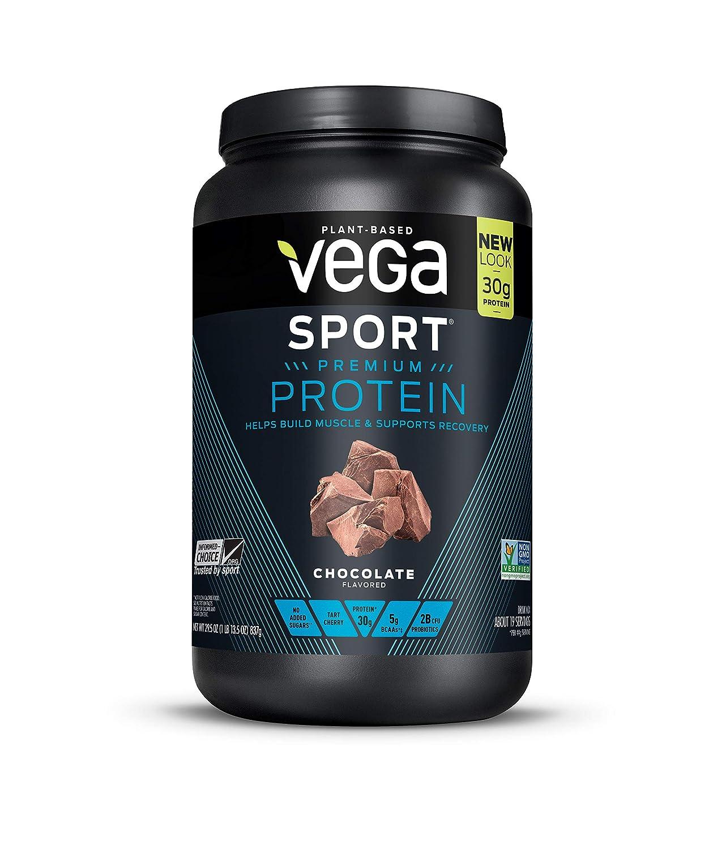 57bd90b1a Vega Sport Protein Chocolate - 800 gr  Amazon.es  Salud y cuidado personal