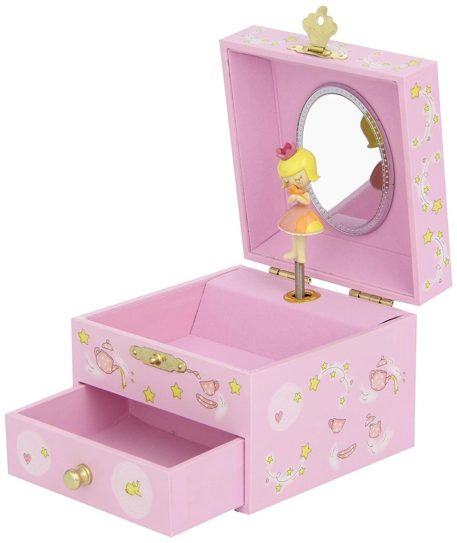 Trousselier - Princesse - Petit Coffret Musical Fée & Etoile - Rose TROUS20702