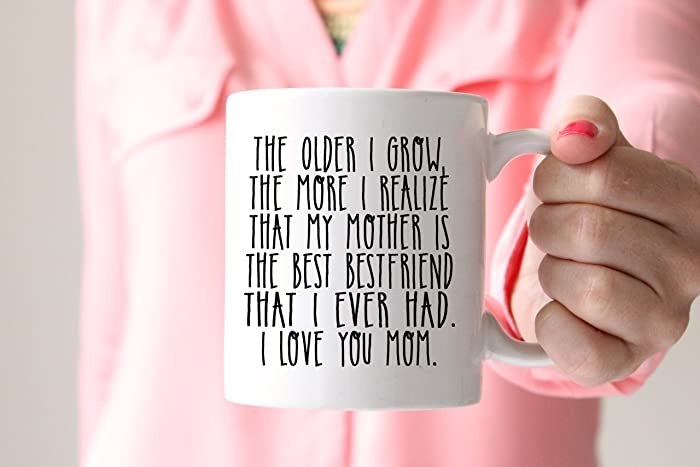 Amazon.com: My Mother Is My Bestfriend Coffee Mug, Gift for Mom ...