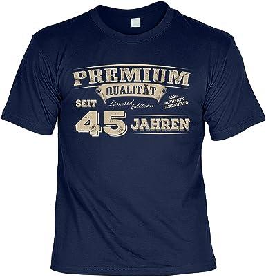 T Shirt 45 Geburtstag Geburtstagsshirt Sprüche 45 Jahre