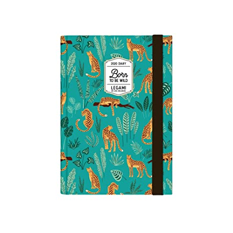 Amazon.com : Legami Daily Planner 12 Months - 2020 - Blue ...