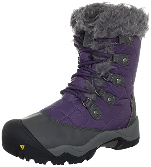 Keen Sunriver High Boot-W - Botas para mujer, color morado, talla 38
