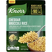 Knorr Ready to Heat Core, Cheddar Broccoli Rice, Pack of 8, 8.8oz