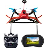 Force1 Racing Drone with Camera Live Video - DYS Pro Remote Control FPV Drone Kit, VR Goggles and Professional RC Quadcopter SP F3 Flight Controller