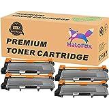HaloFox High Yield Toner Replacements Compatible For Brother TN660 TN-660 TN630 HL-L2340DW HL-L2300D HL-L2380DW MFC-L2700DW L2740DW DCP-L2540DW L2520DW HL-L2320D MFC-L2720DW L2740DW Printers,4 Packs
