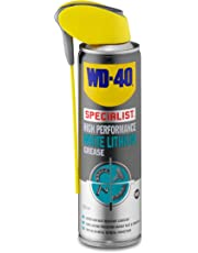 WD40 High Performance White Lithium Grease 250ml