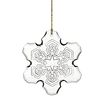 Amazoncom Marquis By Waterford 2015 Annual Snowflake Ornament