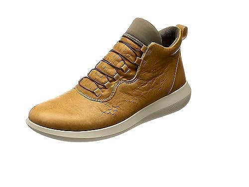 Ecco Scinapse, Sneakers Basses Homme, Marron (Volluto), 44 EU