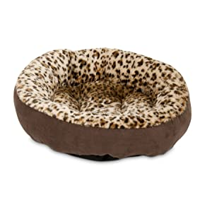 Aspen Pet Round Bed - Animal Print