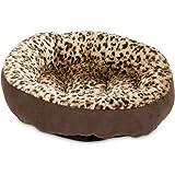 Aspen Pet Round Bed - Animal Print