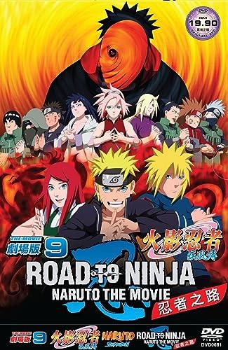 Amazon Naruto Movie 9 Road To Ninja All Region Slipcase Edition Japanese Audio With English Subtitles Movies TV