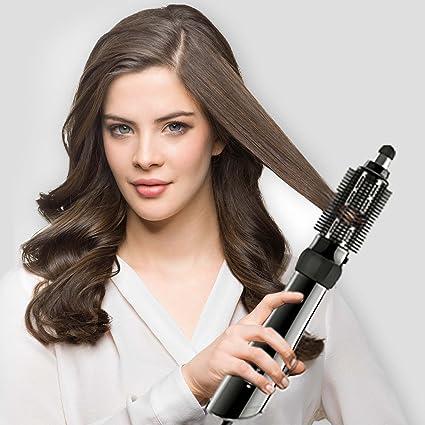 Braun Satin Hair 5 AS530 - Cepillo de pelo moldeador que seca, peina y refresca con el poder del vapor, rizador de pelo negro: Amazon.es: Belleza
