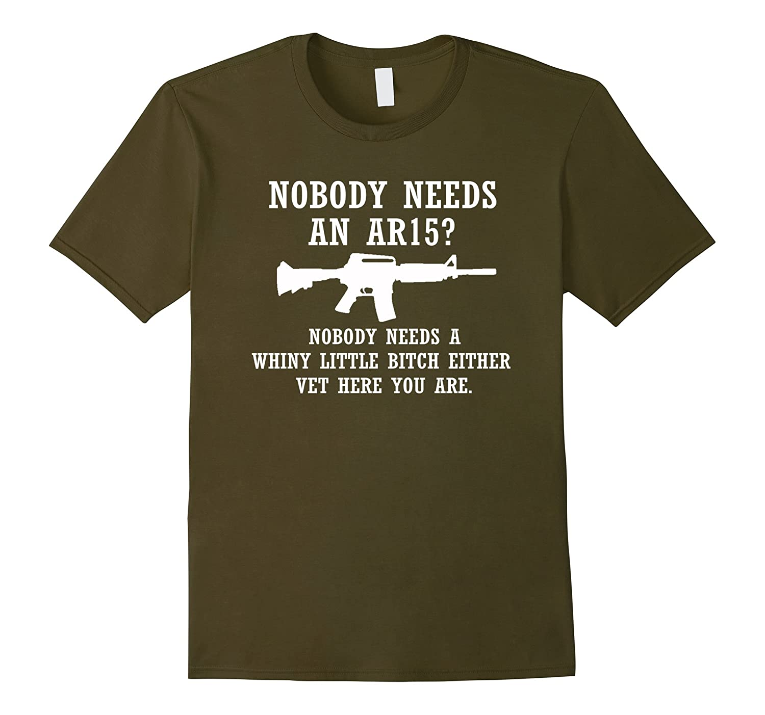 Nobody needs a whiny little either vet here you are T-Shirt-Art