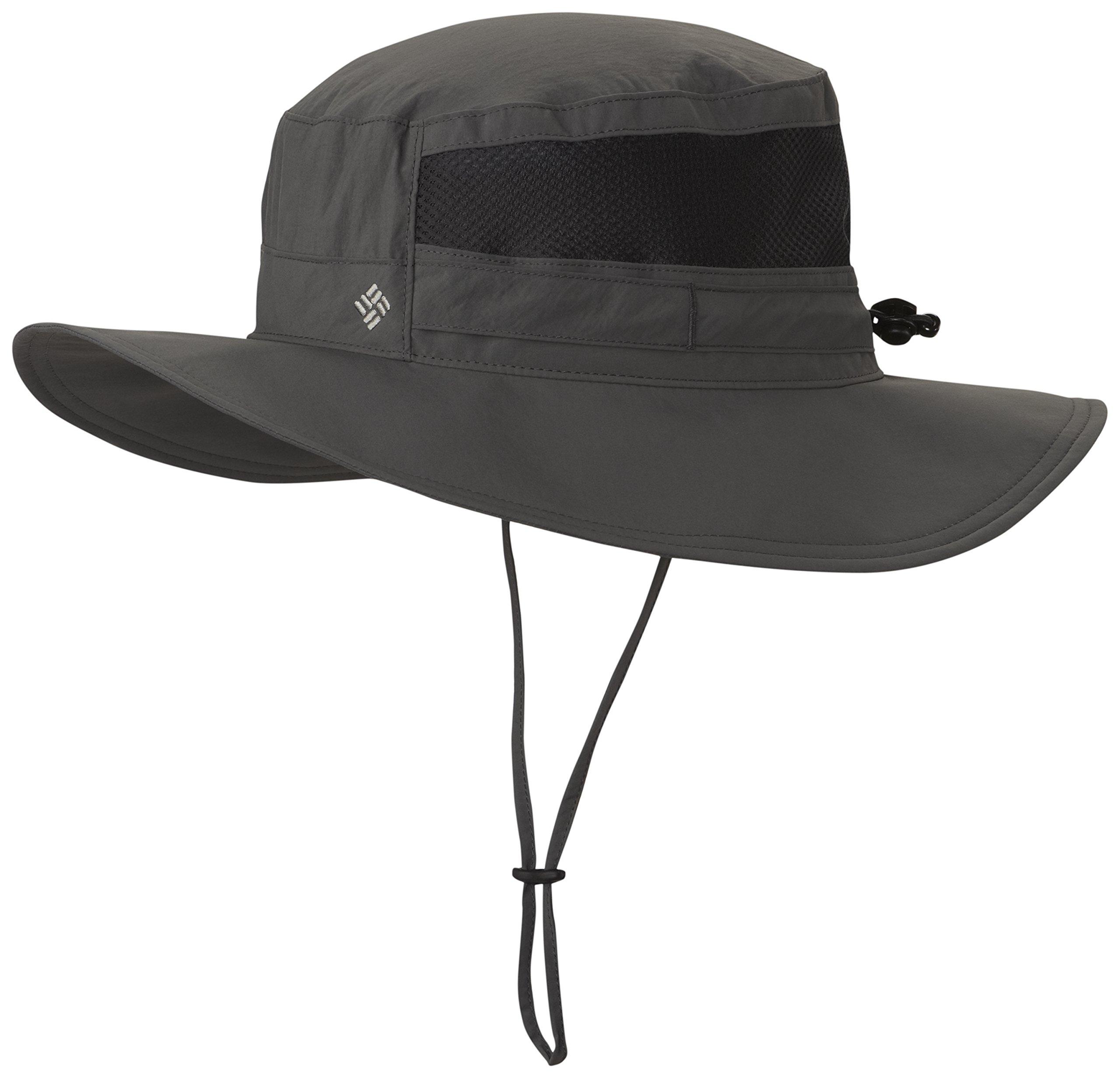 Columbia Unisex Bora Bora II Booney Hat, Moisture Wicking Fabric, UV Sun Protection, Grill, One Size by Columbia