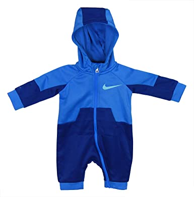 7e3098d1b Image Unavailable. Image not available for. Color: Nike Baby Boys Long  Sleeve Jumpsuit ...
