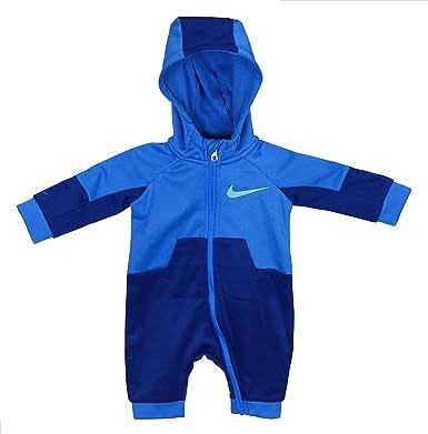 6bb44bb6012b7 Amazon.com: Nike Baby Boys Long Sleeve Jumpsuit - Gym Blue (6-9 Mos ...