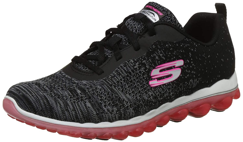 online store 54955 d0fc2 Amazon.com   Skechers Sport Women s Skech Air Run High Fashion Sneaker    Road Running