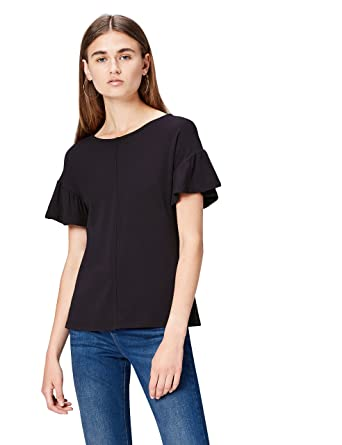 T-shirt Girocollo  Donna find Marchio