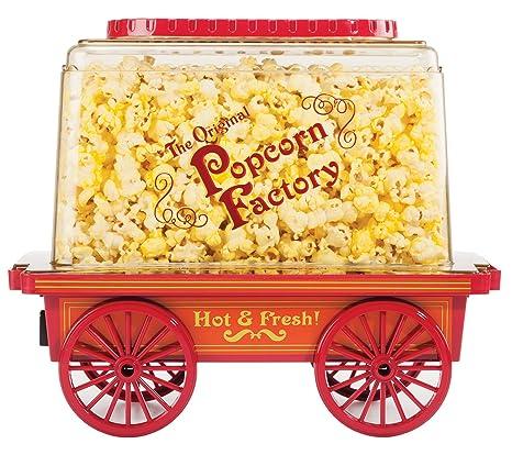 Amazon.com: Brentwood pc-481 Vintage Wagon palomitas de maíz ...