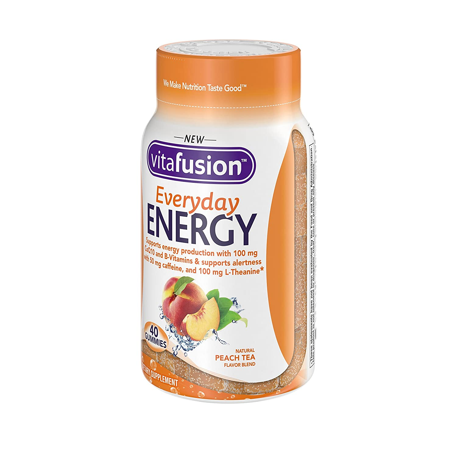 Vitamins For Energy >> Vitafusion Everyday Energy Gummy Vitamins 40 Count Packaging May Vary