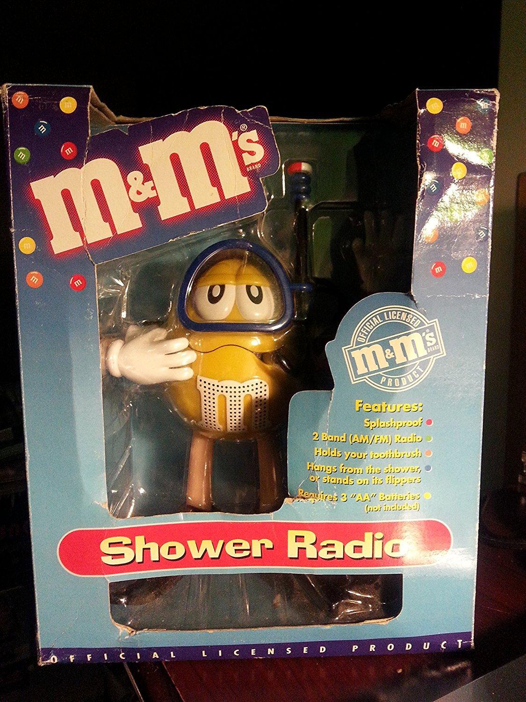 M & Ms M & M M & MシャワーラジオScuba Diver AM FM B014RZ9YM8