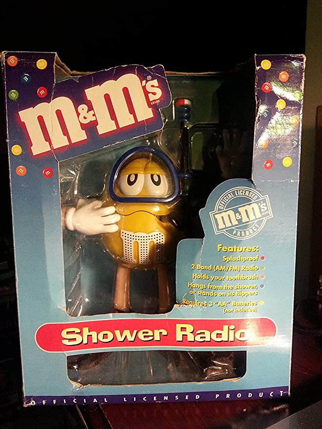 Amazon.com: M&Ms M&M M & M Shower Radio Scuba Diver AM FM: Home Audio & Theater