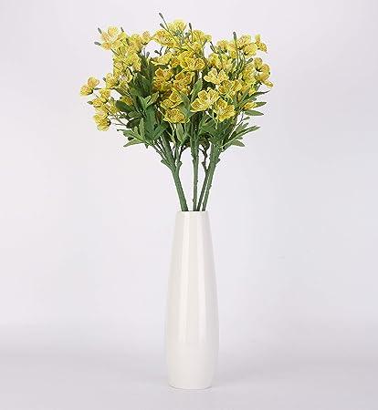 Amazon Nolast Artificial Flowers 25 Long Stem Faux Flower