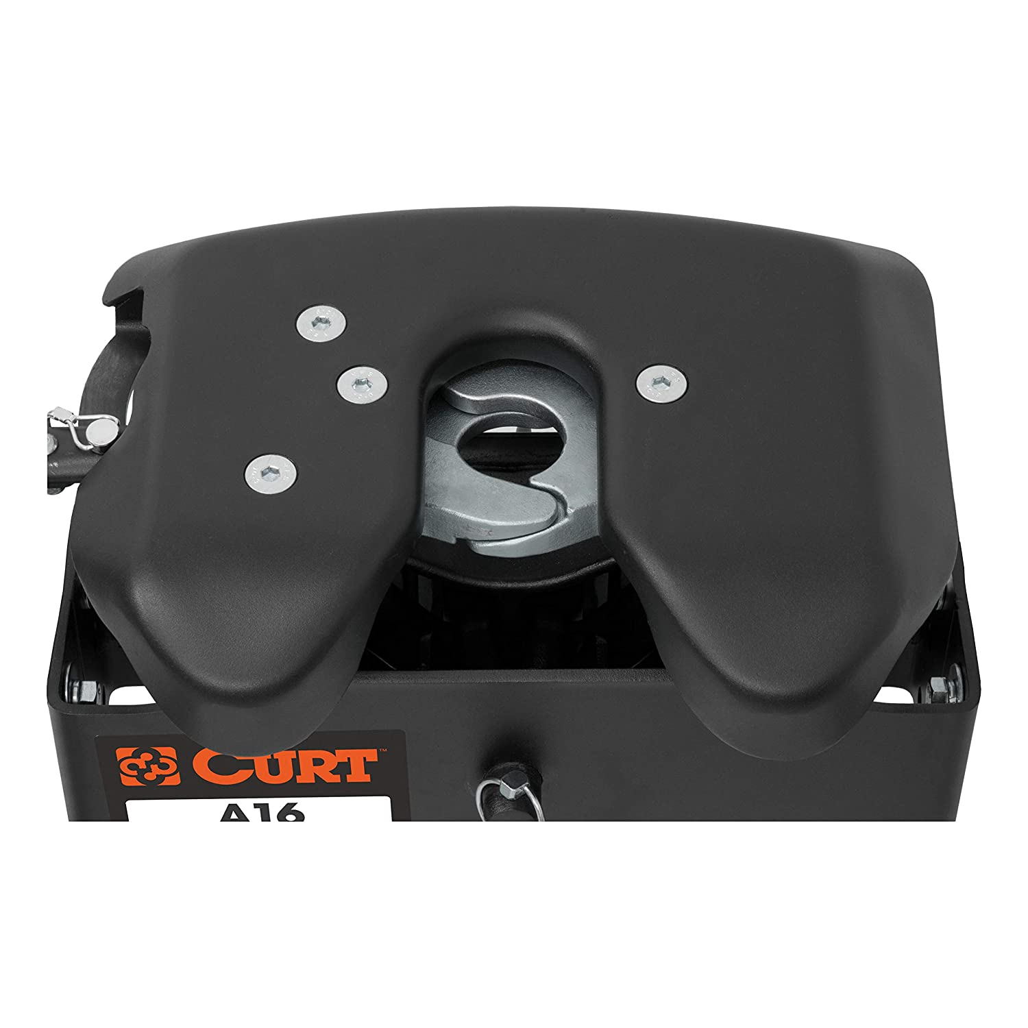 Short Bed Trucks 16,000 lbs. CURT 16685 A16 5th Wheel Slider Hitch for Ram Puck System