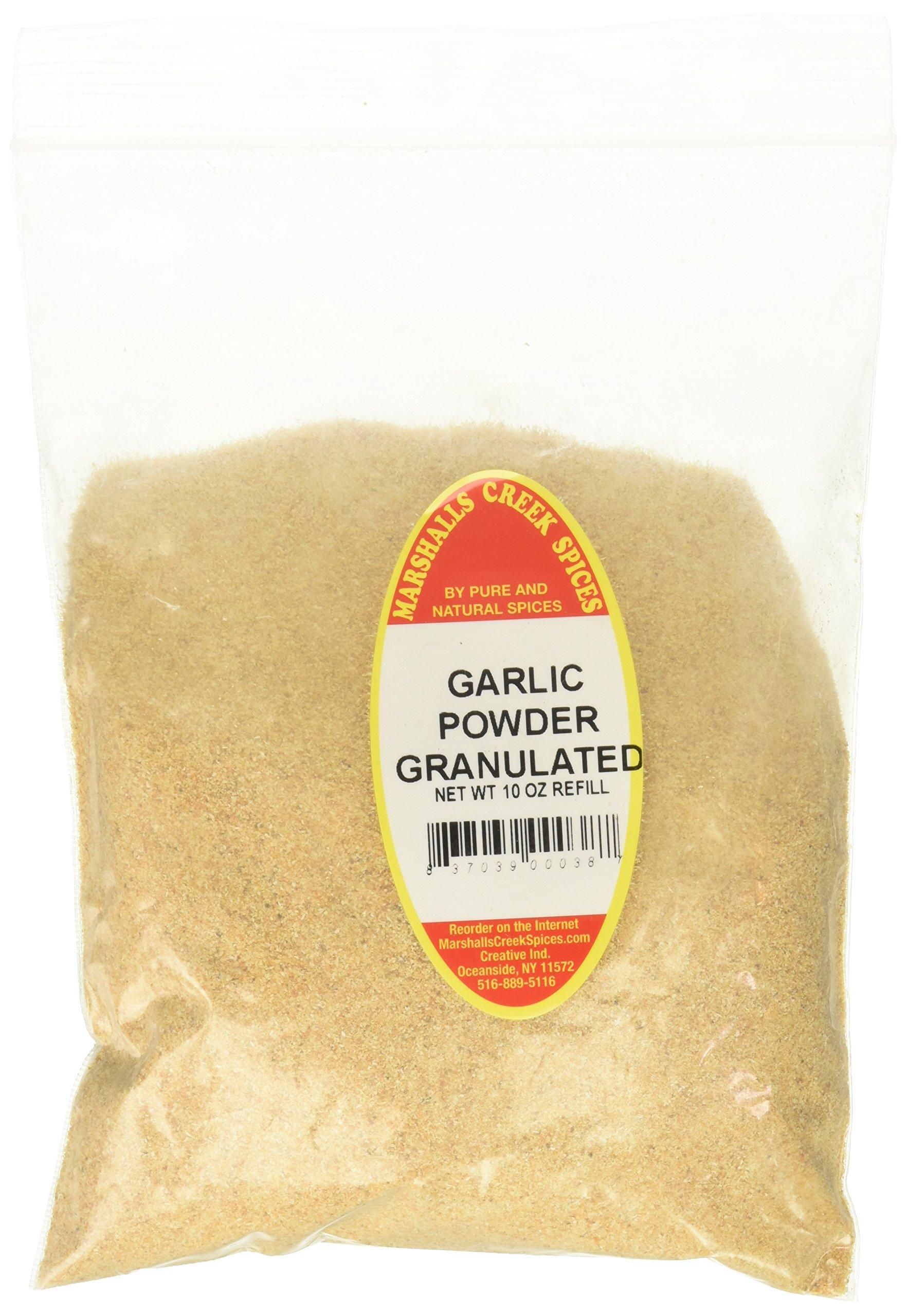 Marshalls Creek Kosher Spices GARLIC POWDER GRANULATED 10 oz